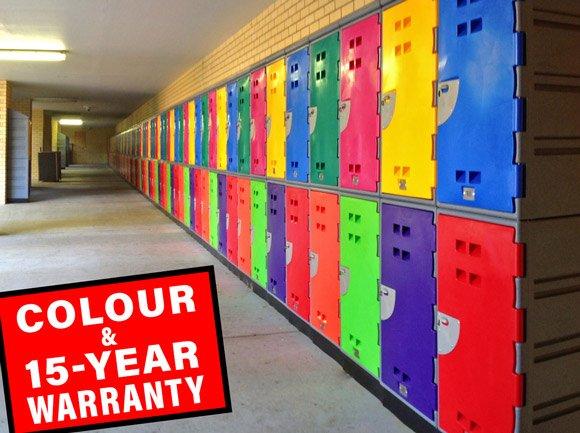 Colourful-15-year-Warranty-Lockers